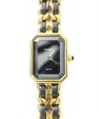 CHANEL(シャネル)の古着「腕時計」|ブラック