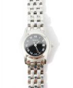 GUCCI(グッチ)の古着「クォーツ腕時計/Gクラス 5500L  」|ブラック