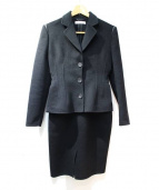 PRADA(プラダ)の古着「セットアップ/スカートスーツ」|ブラック