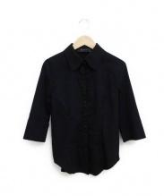 FOXEY(フォクシー)の古着「ボーイズブレインシャツ」|ブラック