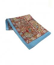 HERMES(エルメス/スカーフ)の古着「スカーフ」 アイボリー×ブルー