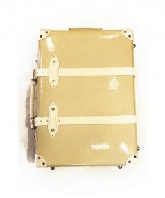 GLOBE-TROTTER(グローブトロッター)の古着「キャリーバッグ」|シャンパンゴールド