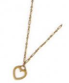 TIFFANY & Co.(ティファニーアンドコー)の古着「オープンハートネックレス」|ゴールド