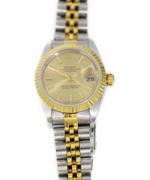 f14b2d5d71 中古・古着通販】ROLEX (ロレックス) デイトジャスト/腕時計 ゴールド ...