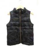 FIGARO(フィガロ)の古着「中綿ベスト」 オリーブ