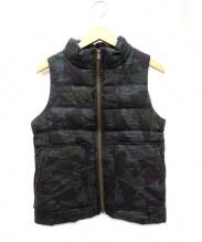 FIGARO(フィガロ)の古着「中綿ベスト」|オリーブ