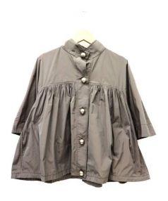 STELLA McCARTNEY(ステラ・マッカートニー)の古着「デザインナイロンジャケット」 グレー