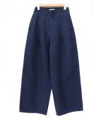 SERGE de bleu(サージ)の古着「ワイドパンツ」