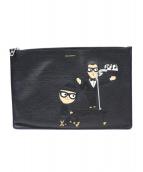 DOLCE & GABBANA(ドルチェアンドガッバーナ)の古着「クラッチバッグ」|ブラック