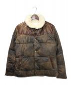 ISAMU KATAYAMA BACKLASH(イサムカタヤマ バックラッシュ)の古着「ダウンジャケット」|ブラウン