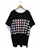 uniform experiment(ユニフォームエクスペリメント)の古着「 STAR PHILOSOPHY BIG TEE」|ブラック