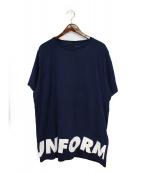uniform experiment(ユニフォームエクスペリメント)の古着「SLEEVE STAR BIG TEE」|ネイビー