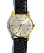 SEIKO(セイコー)の古着「ロードマーベル/腕時計」|ブラック×ゴールド