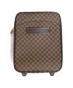 LOUIS VUITTON(ルイヴィトン)の古着「ペガス45/キャリーバッグ」|ブラウン