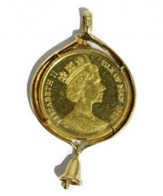 Ellan Vannin Cat Coin(マントウキャットコイン)の古着「マン島キャットコイン」