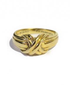 Tiffany & Co.(ティファニーアンドコー)の古着「シグネチャーリング」|ゴールド