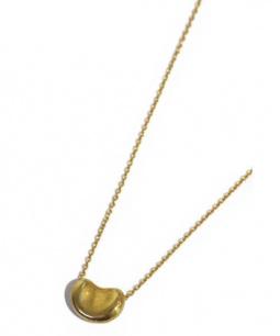 Tiffany & Co.(ティファニーアンドコー)の古着「ビーンネックレス」 ゴールド