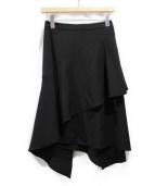 AKIRA NAKA(アキラナカ)の古着「Edel スカート」|ブラック