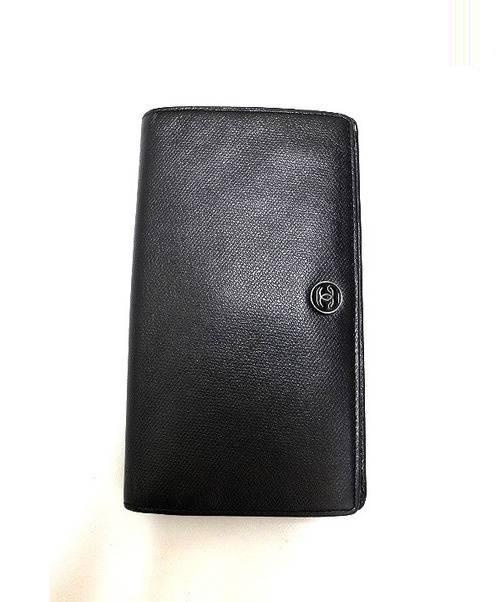 CHANEL CHANEL (シャネル) 長財布 ブラック ■