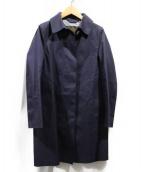 MACKINTOSH(マッキントッシュ)の古着「ゴム引きコート」 ネイビー