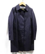 MACKINTOSH(マッキントッシュ)の古着「ゴム引きコート」|ネイビー