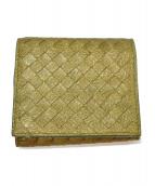 BOTTEGA VENETA(ボッテガヴェネタ)の古着「3つ折り財布」 オリーブ