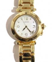 Cartier(カルティエ)の古着「パシャ ドゥ カルティエ/18K 8Pダイヤ」|ゴールド