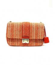 Christian Dior(クリスチャン ディオール)の古着「ショルダーバッグ」|オレンジ