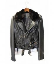 CHROME HEARTS(クロムハーツ)の古着「ライダースジャケット」|ブラック