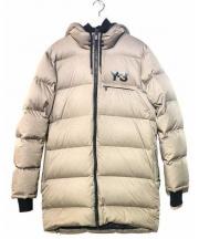 Y-3(ワイスリー)の古着「ダウンジャケット」|ベージュ