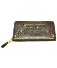BALENCIAGA(バレンシアガ)の古着「長財布」|ブラウン