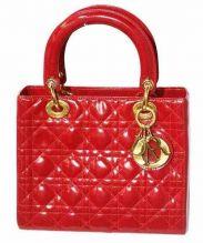 Christian Dior(クリスチャン ディオール)の古着「2WAYバッグ」|レッド