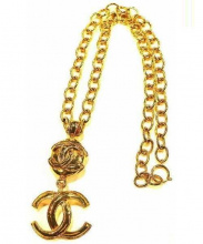 CHANEL(シャネル)の古着「COCOネックレス」|ゴールド