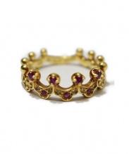 K18 0.03ct Diamonds Ring(18金0.03カラットリング)の古着「デザインリング」|ゴールド