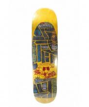 STUSSY×HeeLBRUISE(ステューシー×ヒールブルース)の古着「スケートボードデッキ」|オレンジ