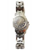 HERMES(エルメス)の古着「腕時計/クリッパー」|シルバー