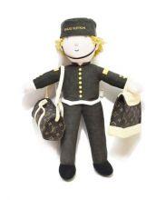 LOUIS VUITTON(ルイ・ヴィトン)の古着「グルーム人形(ページボーイ)」|ブラウン