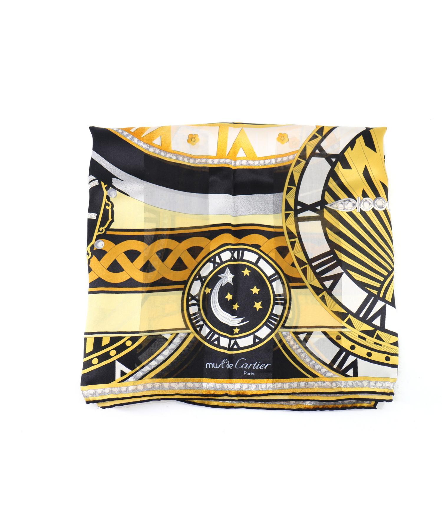 eb4ce571234e 中古・古着通販】Cartier (カルティエ) スカーフ ゴールド フランス製 ...