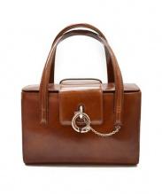 Cartier(カルティエ)の古着「ハンドバッグ」 ブラウン