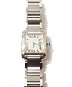 Cartier(カルティエ)の古着「タンクフランセーズ/腕時計」