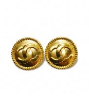 CHANEL(シャネル)の古着「ココマークイヤリング」 ゴールド