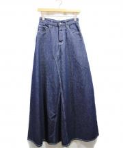 MM6(エムエムシックス)の古着「デニムスカート」|インディゴ