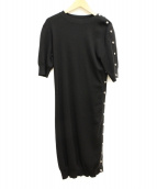 LOUIS VUITTON(ルイ・ヴィトン)の古着「ニットワンピース」|ブラック