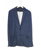 AKM(エーケーエム)の古着「2Bスウェットジャケット」|ネイビー