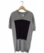 MM6(エムエムシックス)の古着「ニットワンピース」|グレー