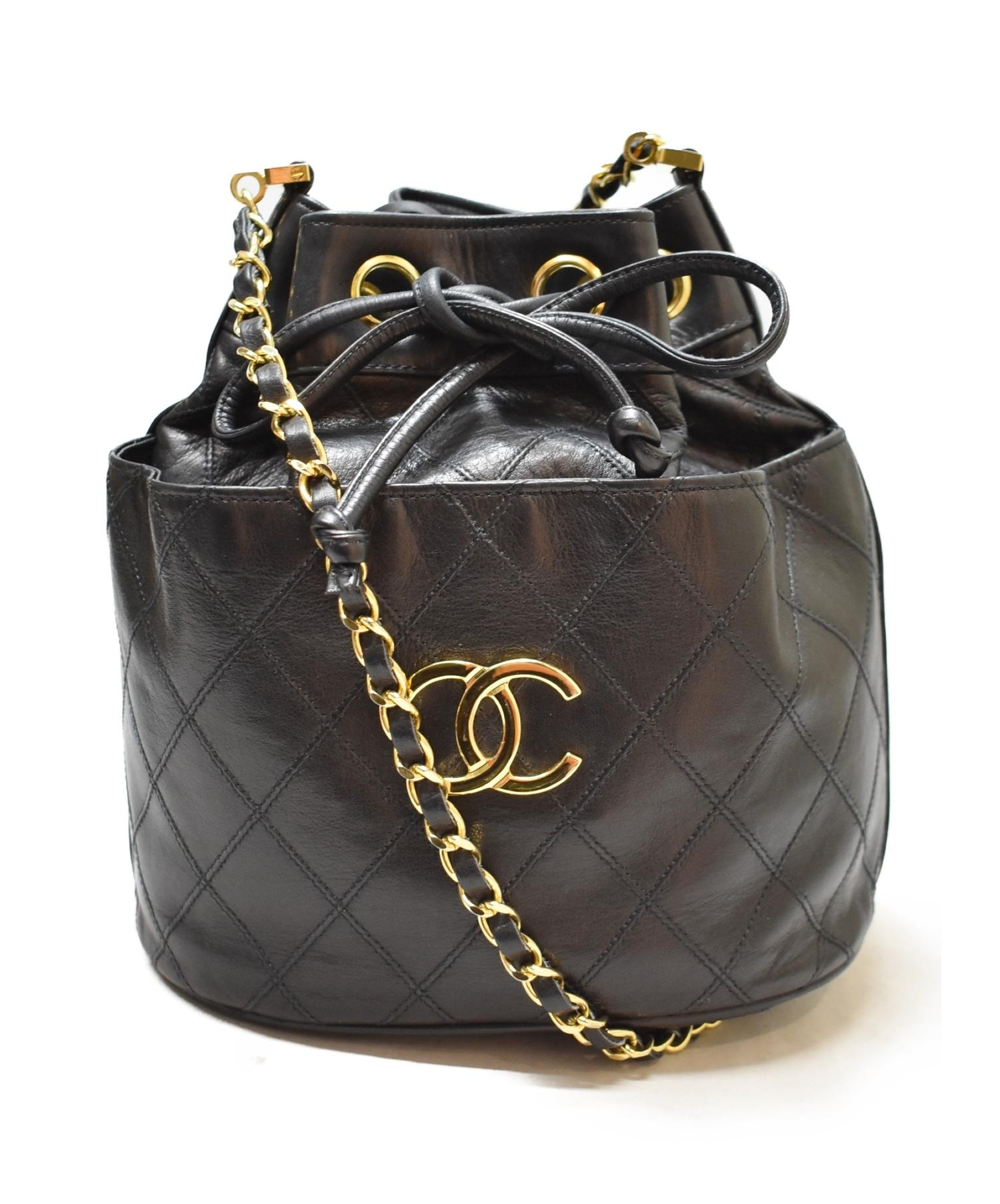 new concept b05e7 b0579 [中古]CHANEL(シャネル)のレディース バッグ 巾着チェーンショルダーバッグ