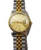 ROLEX(ロレックス)の古着「デイトジャスト/腕時計」|ゴールド