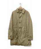 ASPESI(アスペジ)の古着「中綿ステンカラーコート」|ベージュ