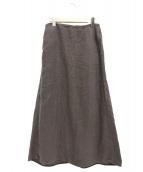 DEUXIEME CLASSE(ドゥーズィエムクラス)の古着「マキシリネンロングスカート」