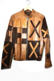 DIRK BIKKEMBERGS(ダークビッケンバーグ)の古着「レザージャケット」
